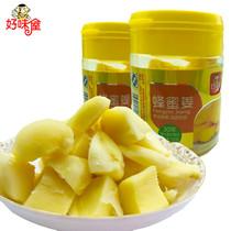 好味屋蜂蜜姜白玉姜100g罐装开胃姜片生姜坨蜜饯姜块零食
