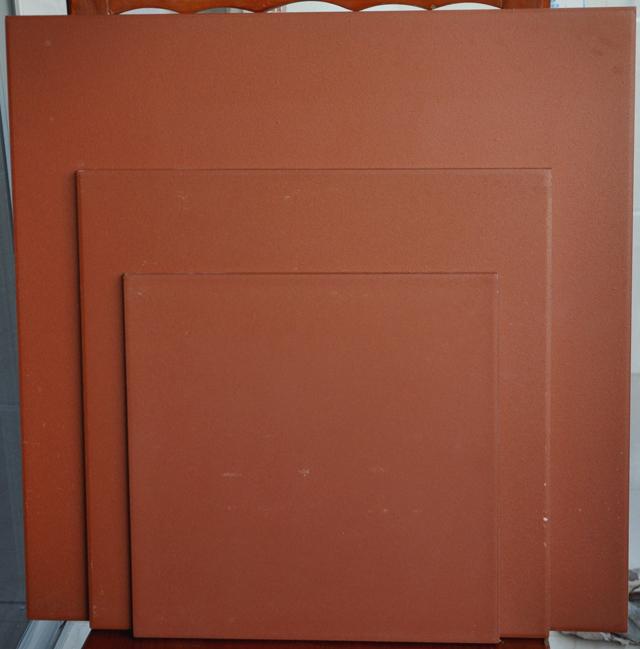 酷陶四角闽南防潮陶土红砖 吸水砖 红缸砖 庭院阳台露天砖