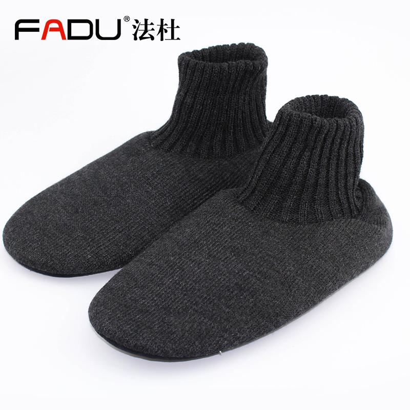 男士室內家居地板襪成人加厚防滑地毯襪子女秋冬款襪套男鞋襪保暖圖片
