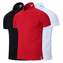 体恤大红色 保罗衫 男装 半袖 男短袖 夏季纯色polo衫 翻领T恤宽松大码