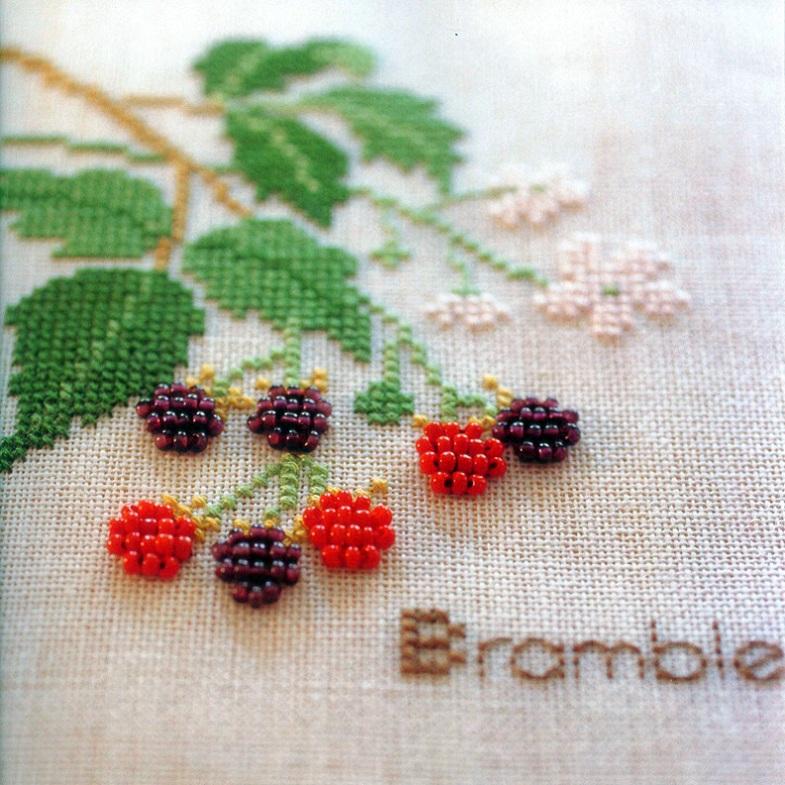 小草莓十字绣