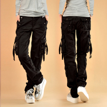 Spring and Autumn 2009 Leisure Women's Trousers, Pants, Pants, Pockets, Pockets, Outdoor Hip-hop and Hip-hop Couple Size