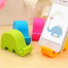 创意可爱大象手机支架桌面手机座ipad平板托架床头懒人通用手机架