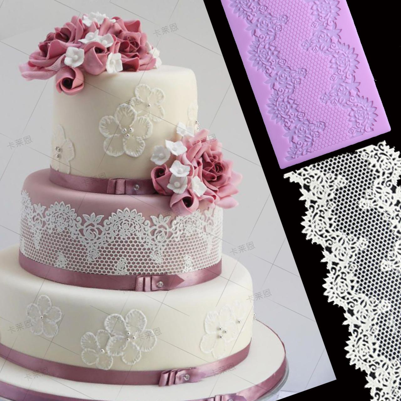 婚礼蕾丝蛋糕