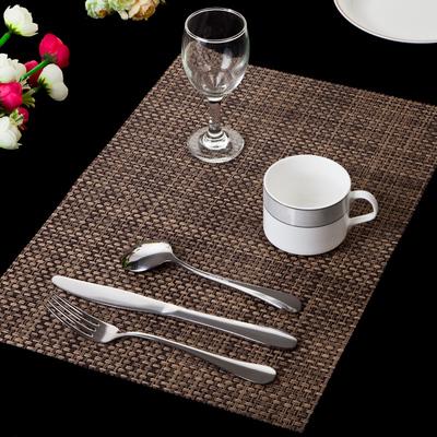 精品加厚西餐垫 餐布 欧式PVC隔热垫 防滑垫 餐桌垫盘垫 水洗速干