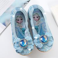 2018 spring and autumn girls princess shoes egg roll shoes little girl dance shoes ice romance love sandals children's shoes