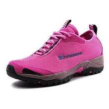 Baoyou Xiangguan Summer Mountaineering Shoes Hiking Shoes Men's Outdoor Shoes and Women's Spring and Autumn Skid-proof and Air-permeable Spring Travel Shoes