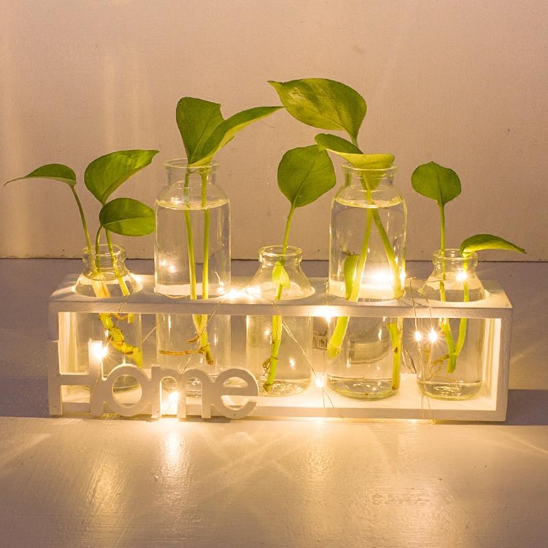创意灯水培瓶