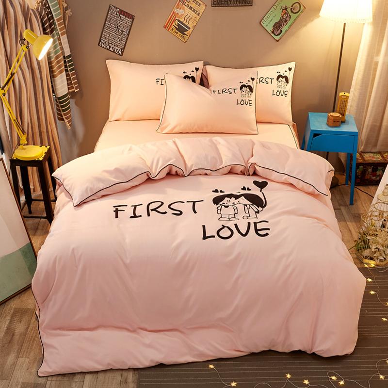床單被罩枕套四件套
