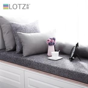 飘窗垫 窗台垫定做雪尼尔纯色沙发垫阳台垫子卡座坐垫订做