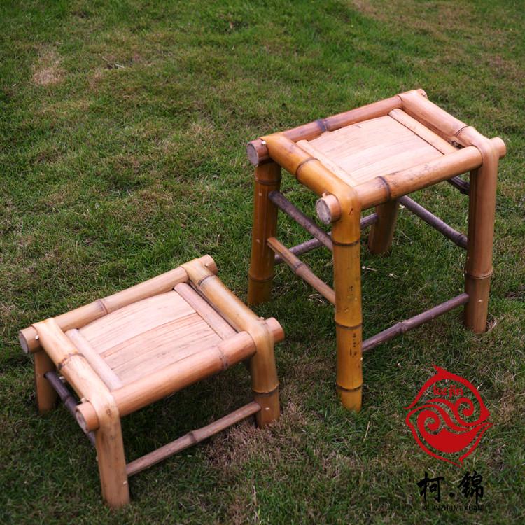 竹制小凳子