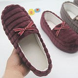 Spring and summer months shoes non-slip bag with postpartum maternity shoes soft bottom cotton jersey thin section maternity slippers casual peas shoes