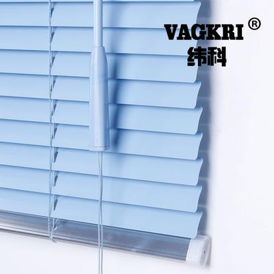 纬科定制铝合金百叶窗帘卷帘办公室遮光卧室厨房卫生间免打孔窗帘