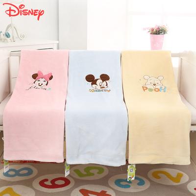 迪士尼婴儿毛毯新生儿宝宝毯子四季通用儿童双层加厚云毯盖毯被子