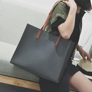 手提包女大包韩版单肩包大容量斜挎包潮流百搭简约购物袋欧美时尚