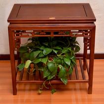 花架子实木落地折叠多层室内阳台客厅多肉绿萝花盆架子简易省空间