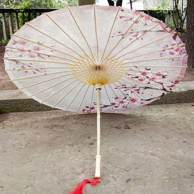 泸州非遗油纸伞防雨防晒古典江南cos装饰桐油雨伞 粉红桃花 包邮