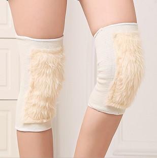 包邮冬季羊毛护膝透气保暖老寒腿男女士加厚骑车防风羊毛加长护膝