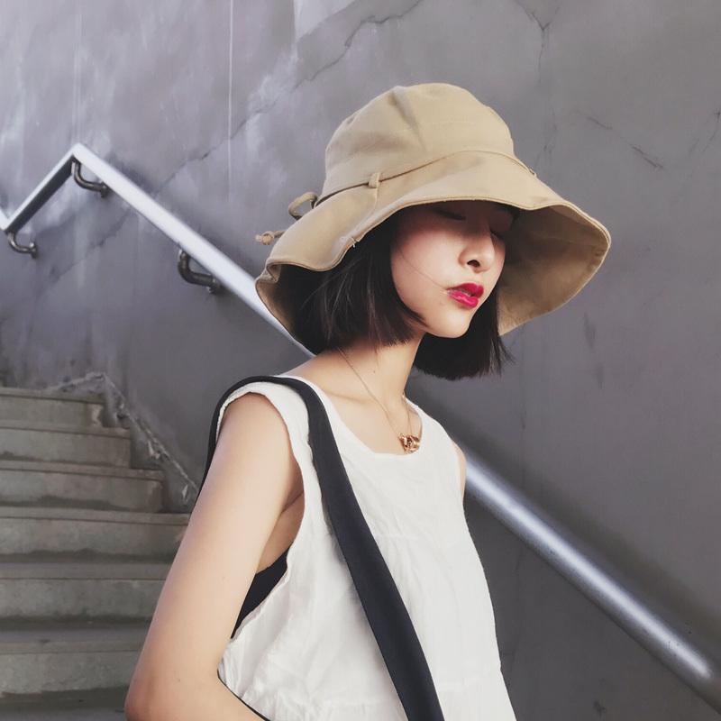 棉韩版太阳帽