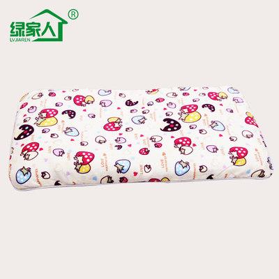 绿家人婴儿保健定型竹炭枕头婴童枕头枕芯宝宝婴儿童枕头3至6岁