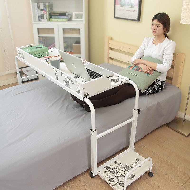 无缝床边电脑桌