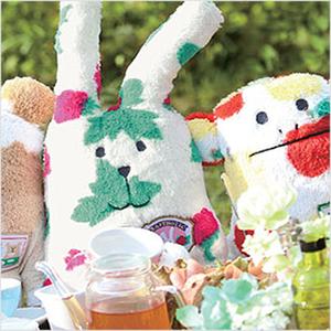 2017韩国代购进口日本CraftHolic茶会下午茶毛绒玩具公仔抱枕玩偶