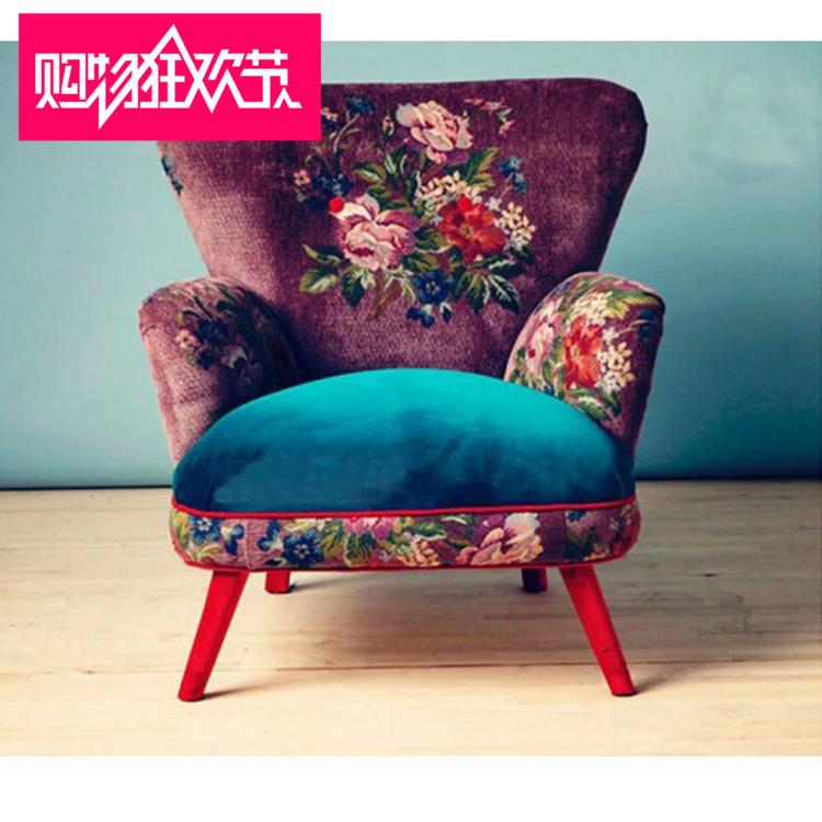 出口美式乡村沙发椅