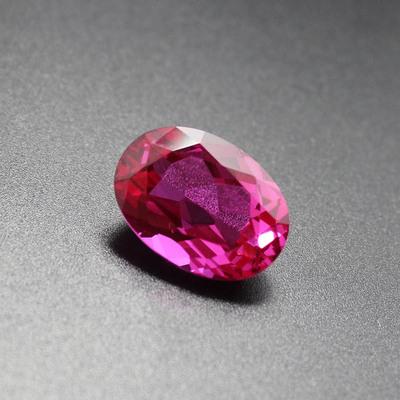 玫瑰红宝石缅甸甄选玫红宝石裸石玫红碧玺糖果色首饰裸石甜蜜爱情
