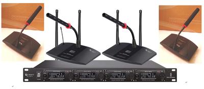 CHISEN超短鹅颈光环会议话筒无线1拖2一拖4一拖八UHF频段短杆话筒哪里便宜