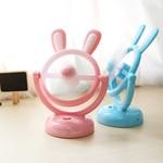 创意迷你手持便携式微型USB静音电扇学生儿童可爱卡通小型电风扇
