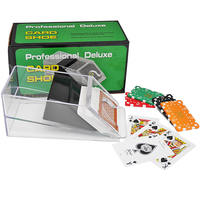 Texas Hold'em Poker Baccarat Dealer Poker Dealer Transparent Dealer Box Boots
