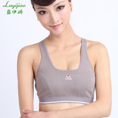 学生军训内衣跑步运动文胸夏青春期少女发育背心无刚圈束胸健身衣