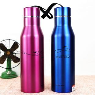 司帝欧欢畅运动水壶不锈钢旅行壶户外真空保温瓶水杯水瓶杯子便携
