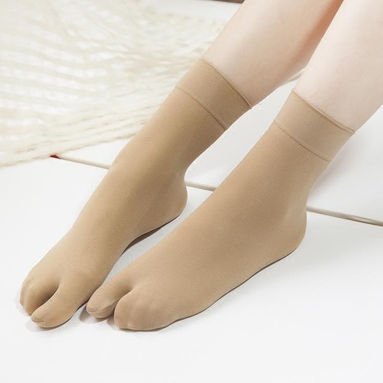 5双分趾袜丝袜短袜二指袜夏薄款袜子胶点二趾袜人字拖袜木屐2指袜