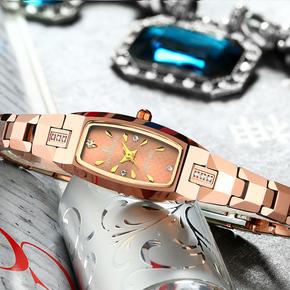 正品手链名表女士手表时尚钨钢防水时装表韩版潮流女表石英表新款