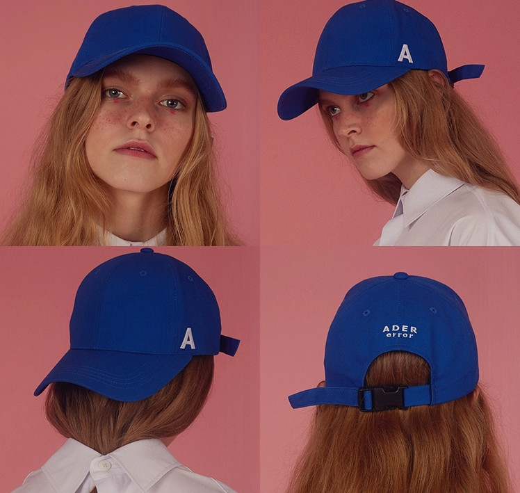 帽子女棒球帽蓝色
