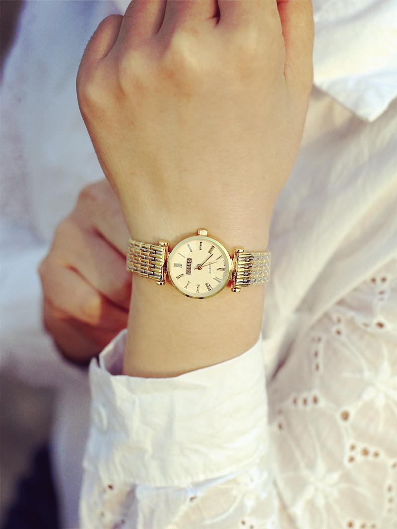 金色手链手表