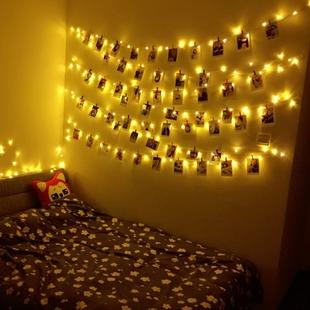 寝室房间装饰小彩灯闪灯串灯满天星浪漫宿舍卧室led星星网红新年