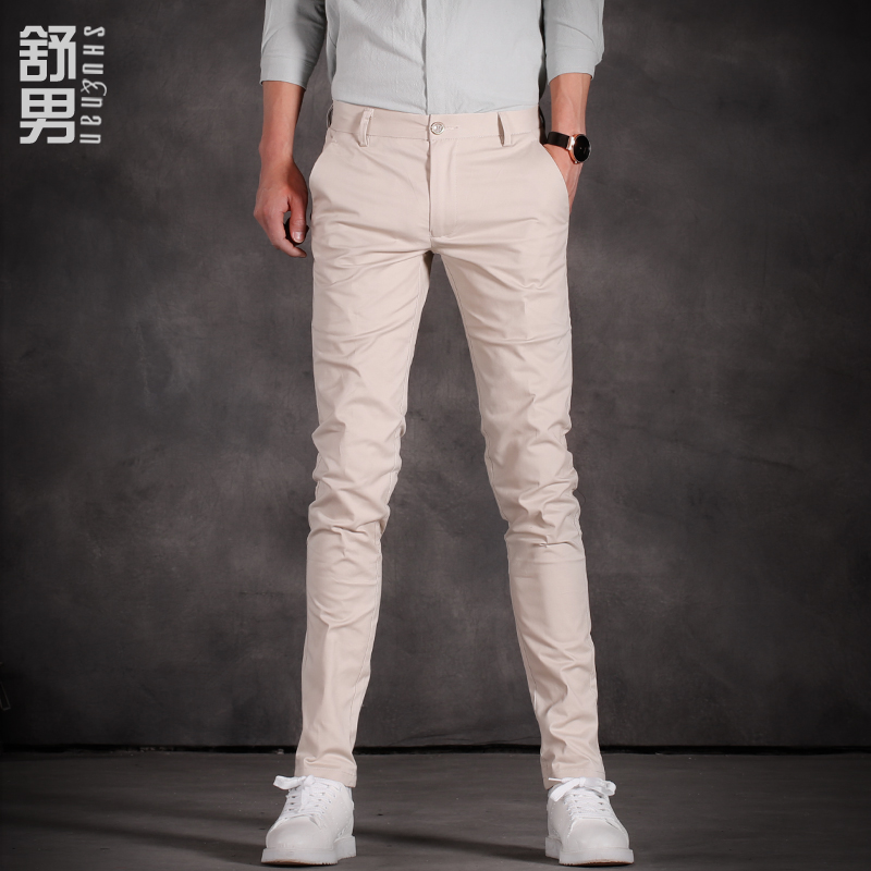 流行男装休闲裤夏款