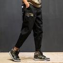 FNNKA日系原创迷彩袋盖军事工装裤男宽松休闲裤青年潮牌水洗长裤