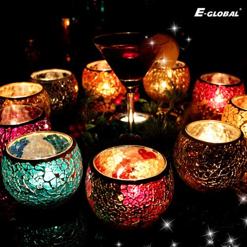 创意玻璃蜡烛烛台