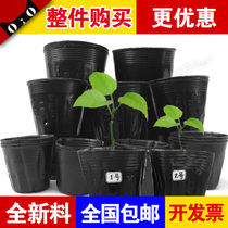 Nutrition Bowl thickening nutrition bag new material thickening nutrition Cup nursery pots planting seedlings hole pots nursery tray pots