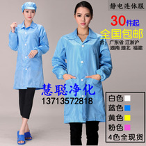 Double crown spot anti-static coat clothing clean clothes clean clothes protective clothing anti-static overalls