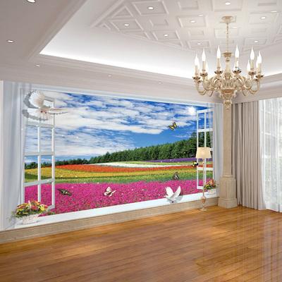 窗户大型壁画使用感受