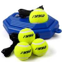 Send 3 line tennis authentic fy tennis holder single tennis training base tennis exerciser