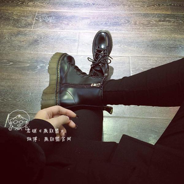 朋克骑士靴短靴