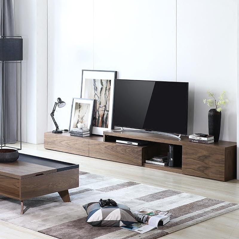 北欧多功能电视柜组合墙简约现代小户型简易客厅家具套装电视机柜