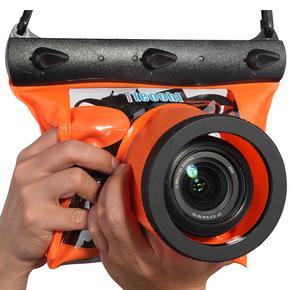 特比乐 单反相机防水袋 浮潜水游泳温泉漂流相机防水套 20米安全