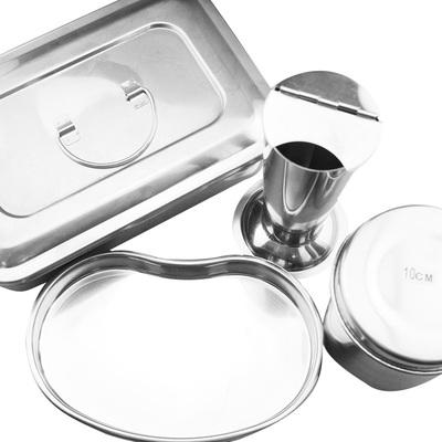 医用器皿镊子筒 酒精缸 器械盘 弯盘托盘 方盘不锈钢医院手术器械