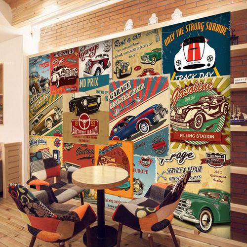广告墙背景墙